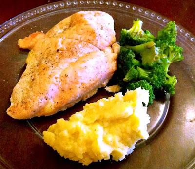 Baked Chicken Breasts Dinner