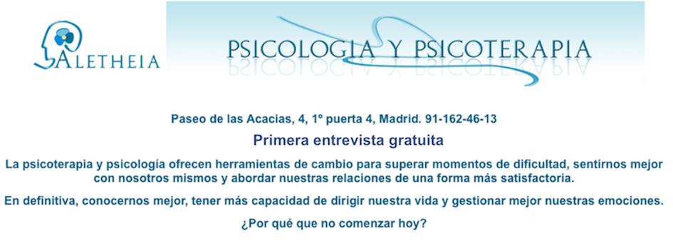 Aletheia Psicologos - Zona Embajadores, Acacias y Arganzuela
