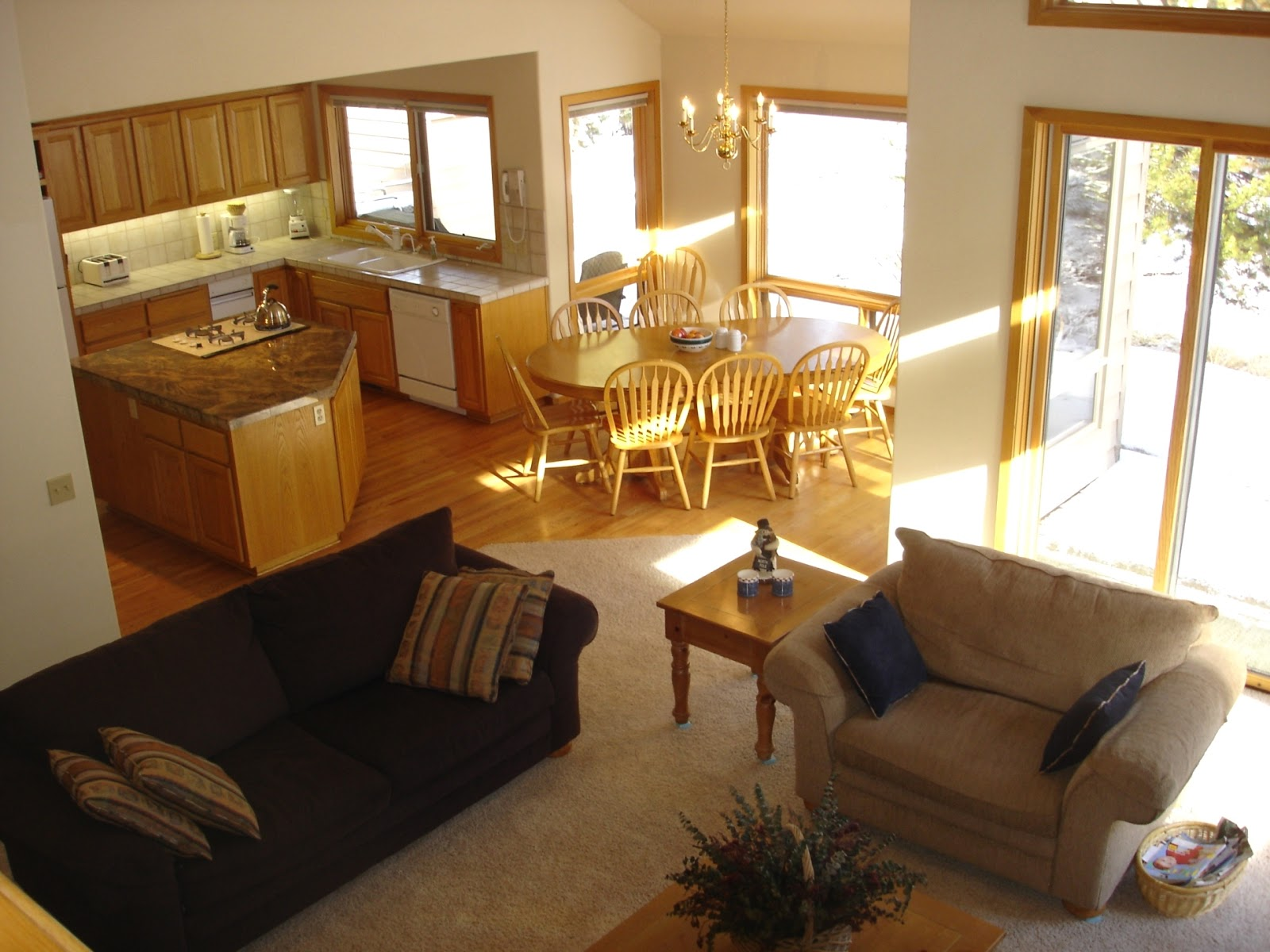 ▻ kitchen floor : fabulous open kitchen floor plans white open