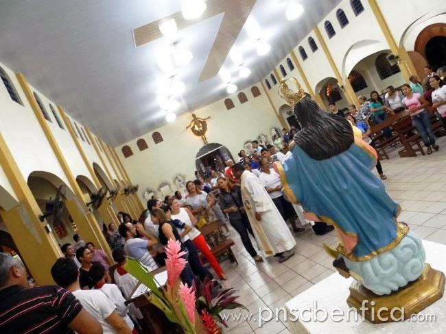 visita de nossa senhora da conceição na paróquia nossa senhora do carmo benevides