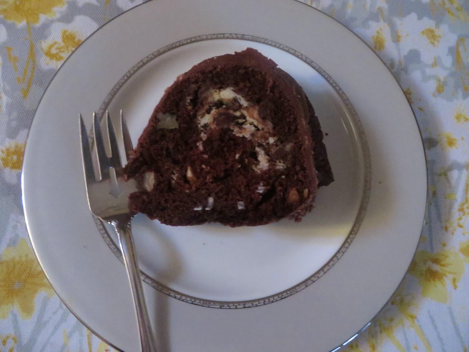 Pillsbury Ring Of Coconut Fudge Cake