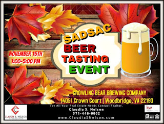 Woodbridge Beer Tasting Event 11-15-15 SADSAC