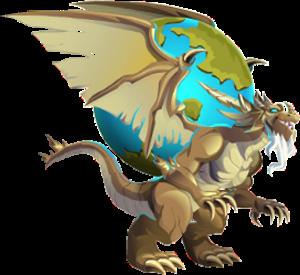 imagen del dragon atlas adulto