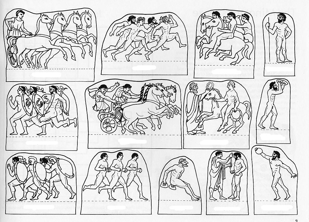 Baños Antiguos Grecia:Juegos Olimpicos De La Antigua Grecia