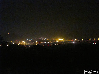 Chennai Airport View At Night From St Thomas Mount