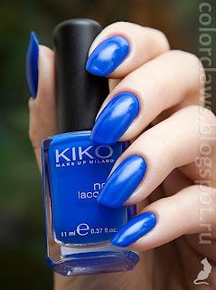 Kiko #336 Blue Elettrico
