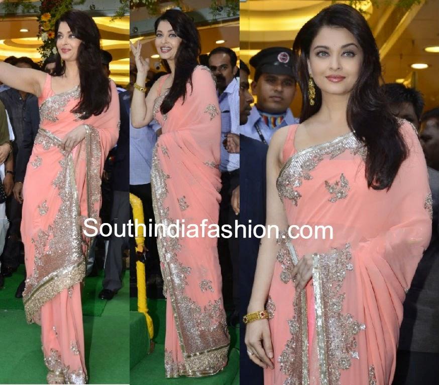 aishwarya at kalyan jewellers store launch ghatkopar