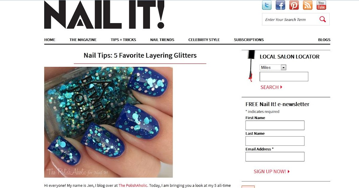 The PolishAholic: Nail it! Magazine Guest Post & Interview!