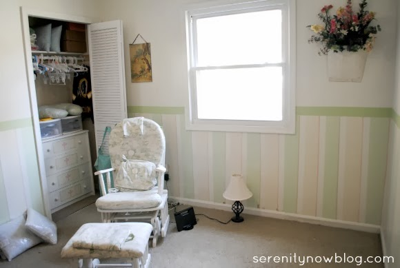 Baby Boy Nursery in Progress, at Serenity Now
