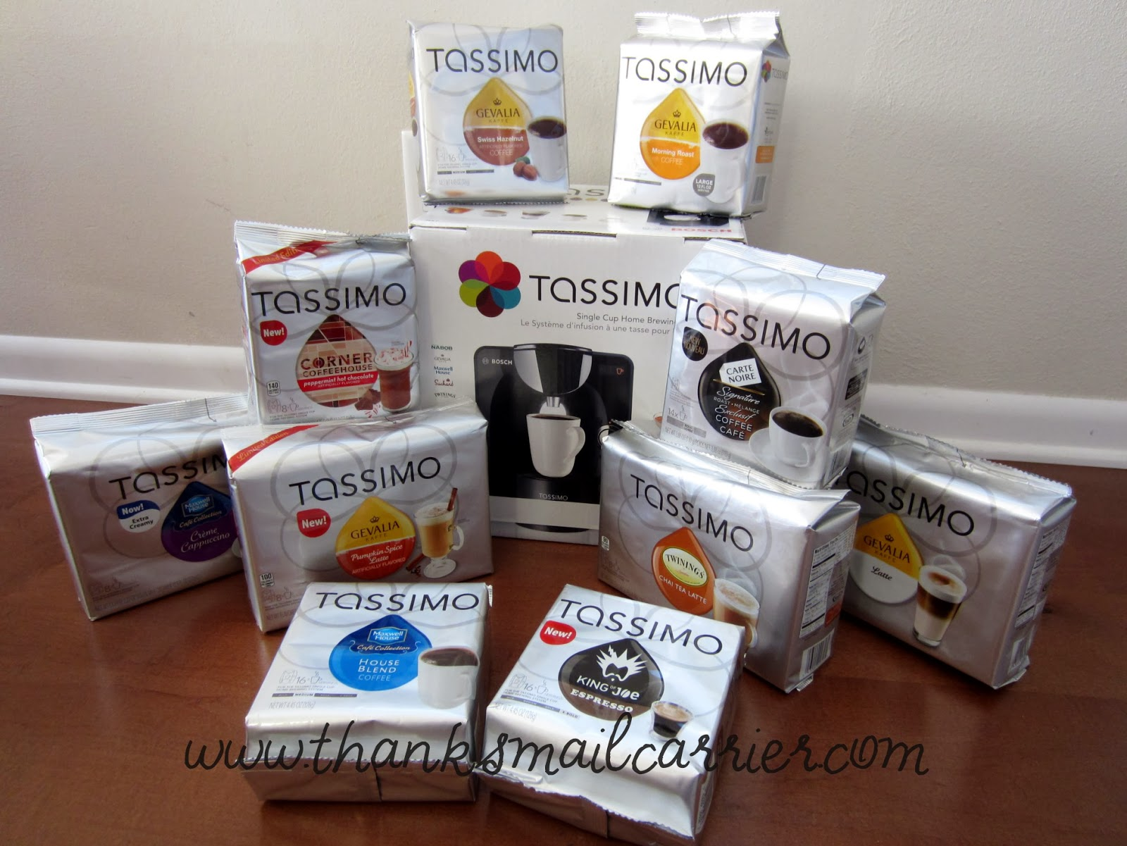 Tassimo T55 single cup brewer
