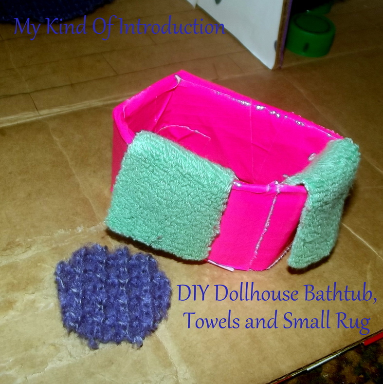 My Kind Of Introduction: How To -- DIY Dollhouse Rugs