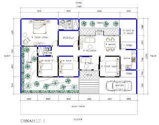 Menggabungkan Dua Rumah Type 36