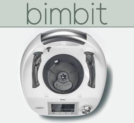 Agora, as minhas receitas com robôs de cozinha estão também no Bimbit