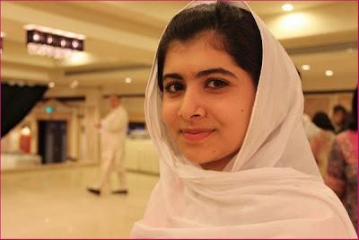 Malala Yousafzai on Airport