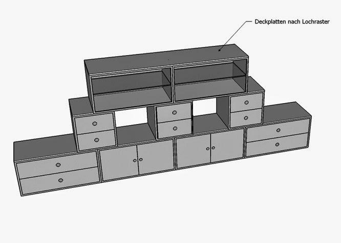 easyblox Büromöbel-Module