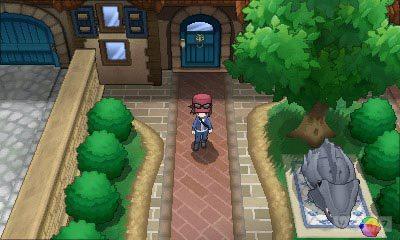 Pokémon X & Y: novos monstrinhos, trailer, imagens, personagens e o primeiro ginásio Boy_Trainer_House_screenshot