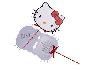 prosklitiria gia vaptisi me hello kitty se stik