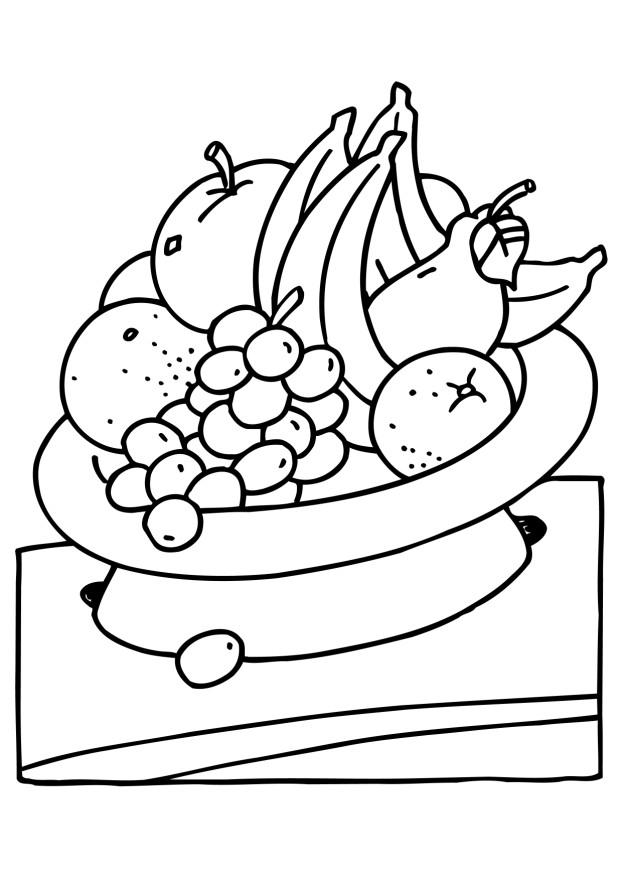 coloring pages of fruit valentine 2012