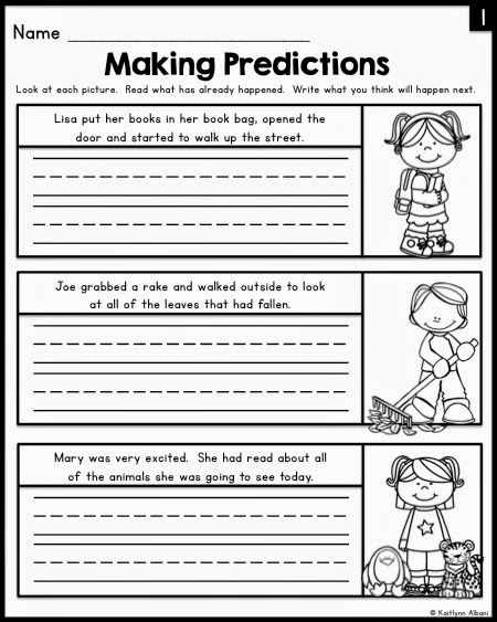 Making Teacher Worksheets : Making predictions worksheets th grade math