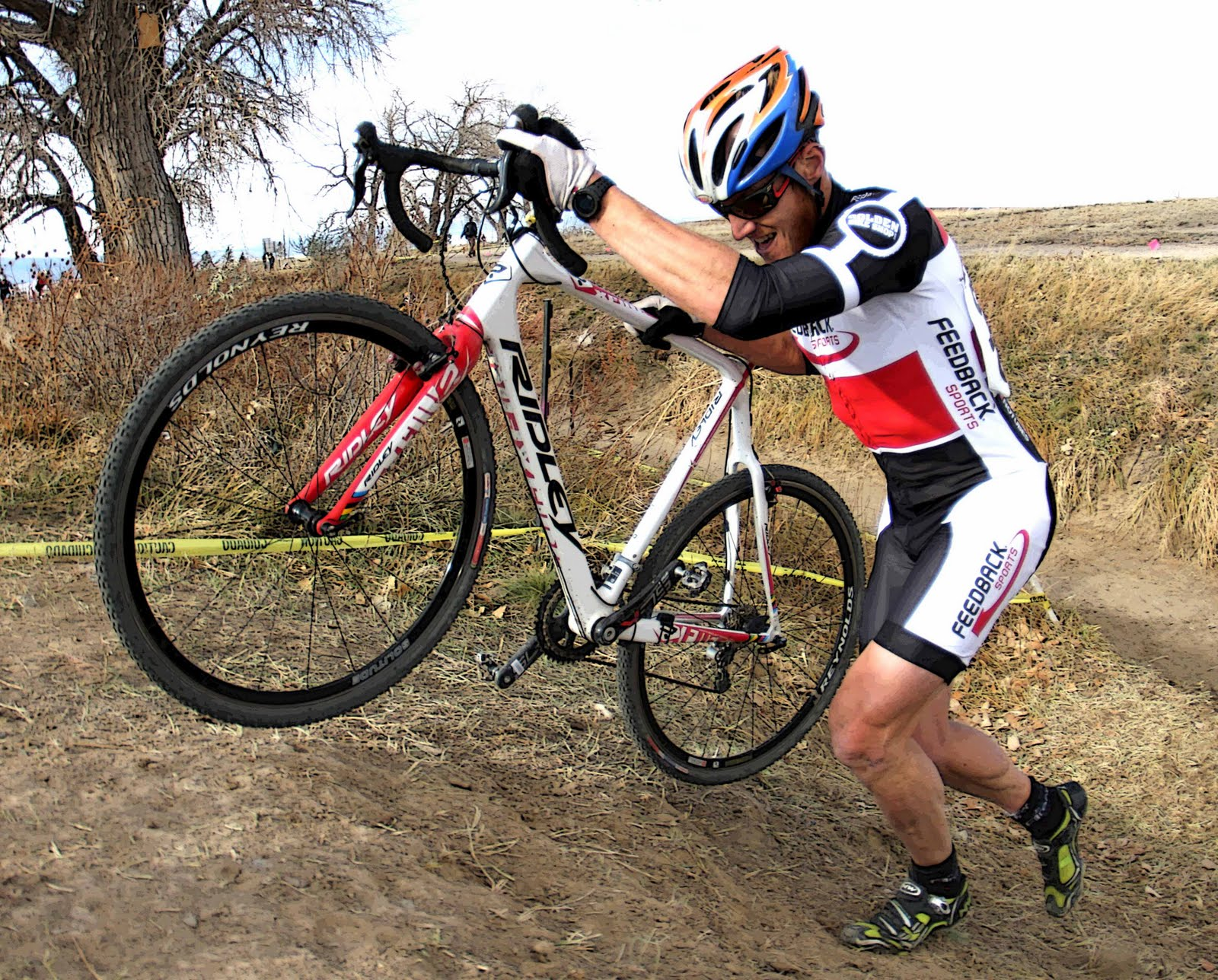 Photo: Feedback Senior Men Open Cyclocross team for 2011 was John Klish.