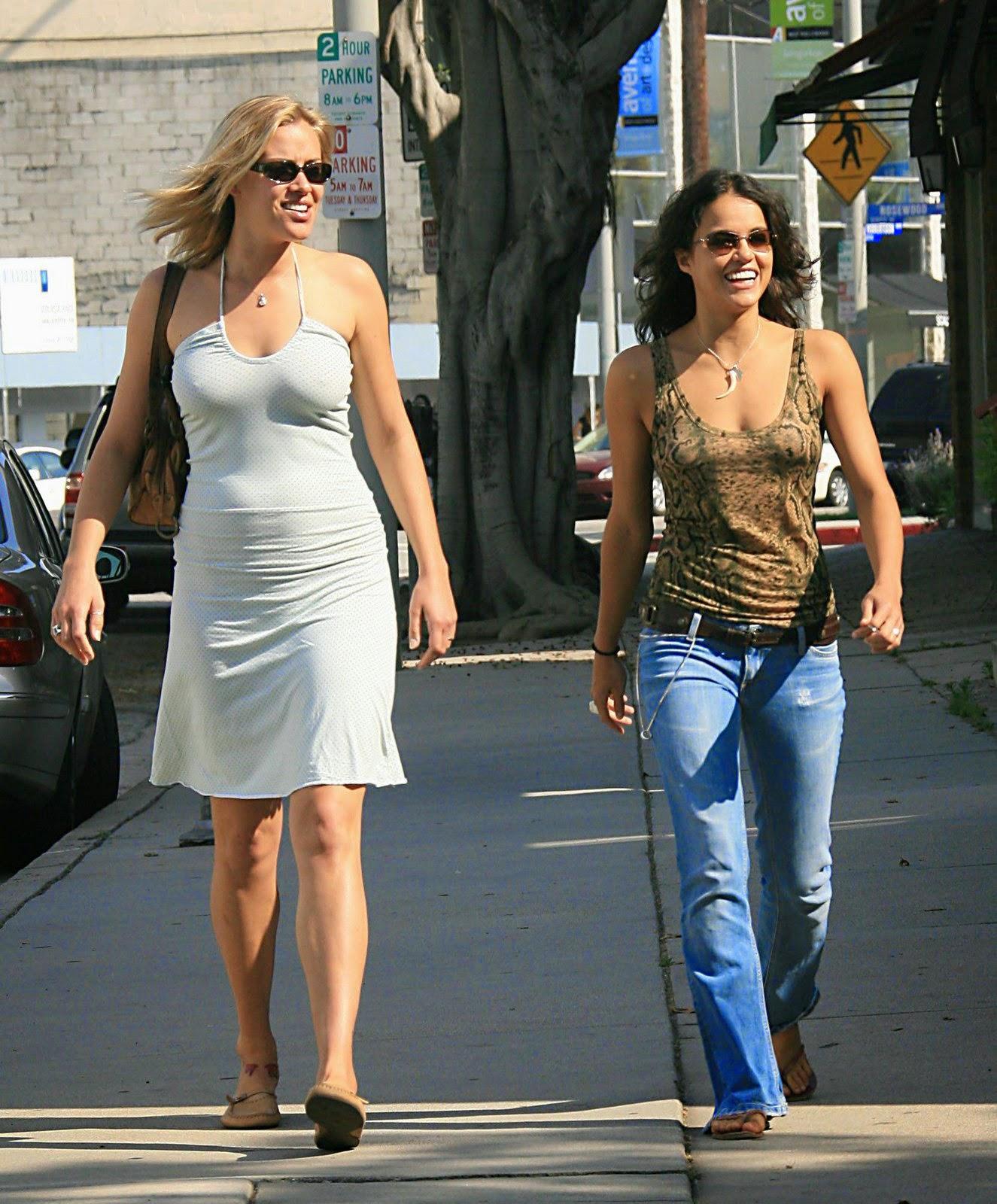 Michelle Rodriguez - Kristanna Loken