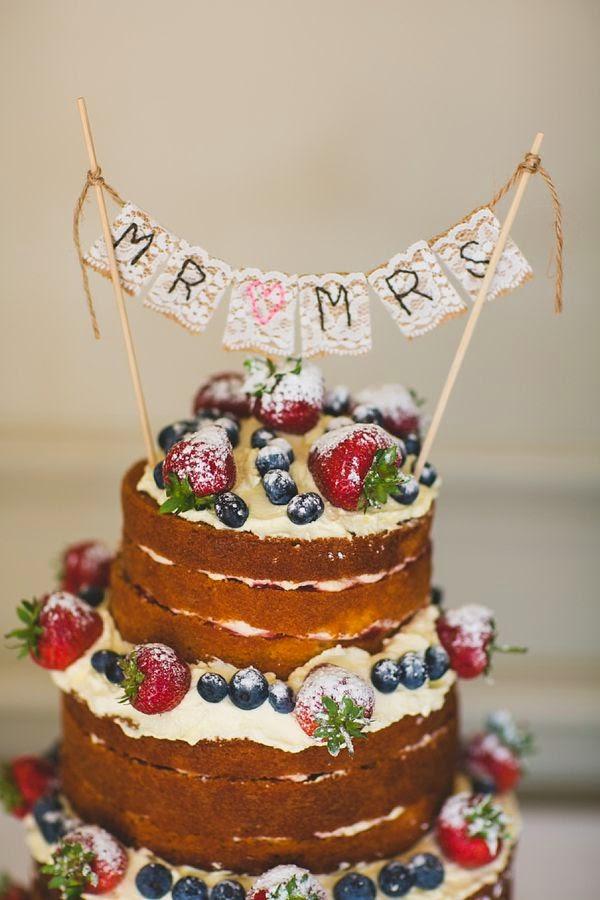 The Latest Cake Design : Naked Wedding Cakes is the latest Wedding Cake Design ...