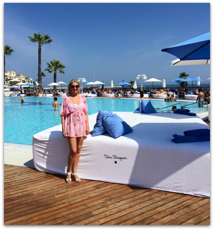 Allsun from Fluff and Fripperies at Ocean Club Marbella