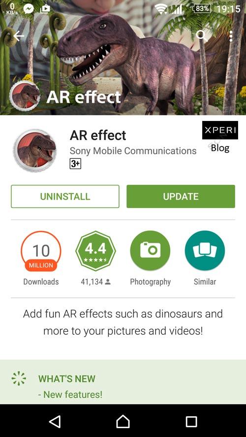 AR Effect 4.1.5
