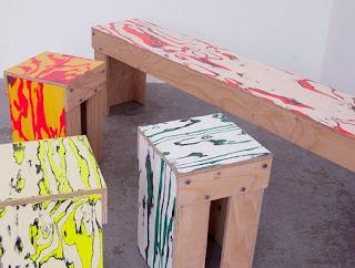Esculturas con Pintura Recuperada, Arte y  Ecoresponsabilidad