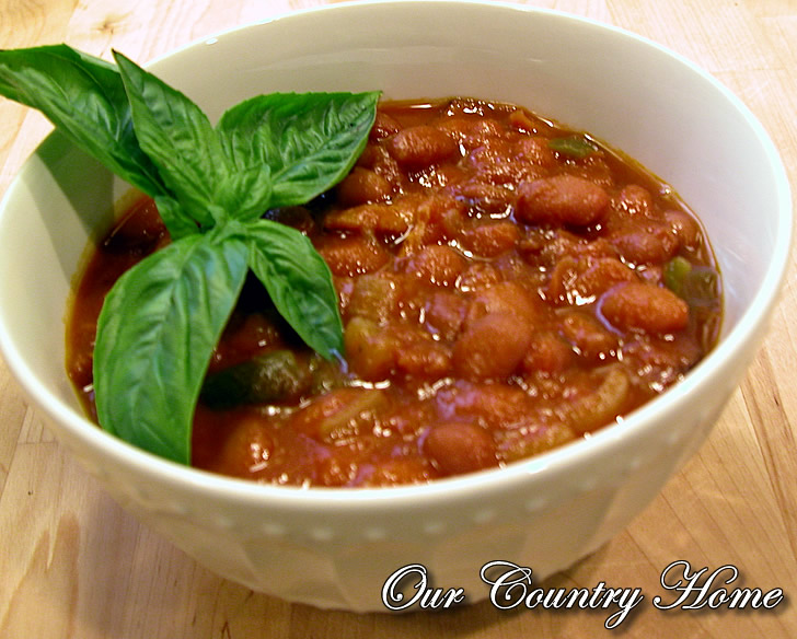 *Our Country Home...: Homemade Baked Beans in the Crock-pot