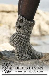 Gratis strikkeoppskrift på sokker