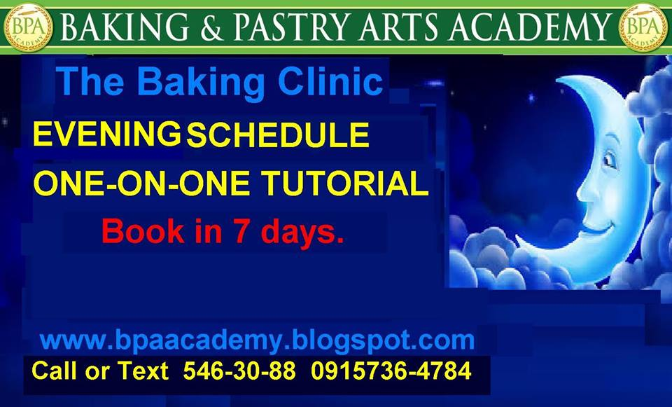 FEB.  2016 EVENING SCHEDULE soon this 2016:) www.bpaacademy.blogspot.com Book in 7 days. email ba