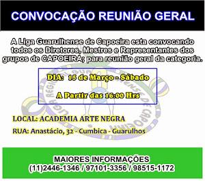 REUNIÃO GERAL CAPOEIRA