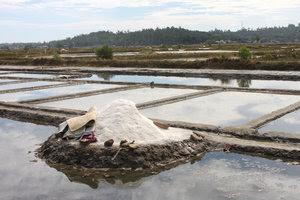 Salt fields in Tịnh Hòa commune