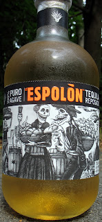 Nice cold Espolon Blue Agave Tequila