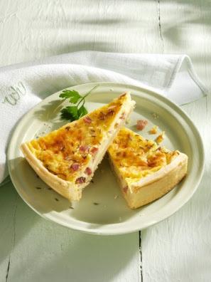 tarta de jamón y maíz