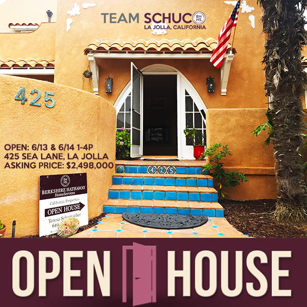 Open House with Team SchuCo La Jolla Beach Barber Tract