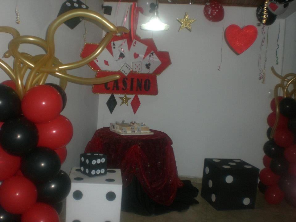 cumpleaños en el casino