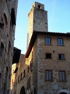 Calles y torres de San Gimignano