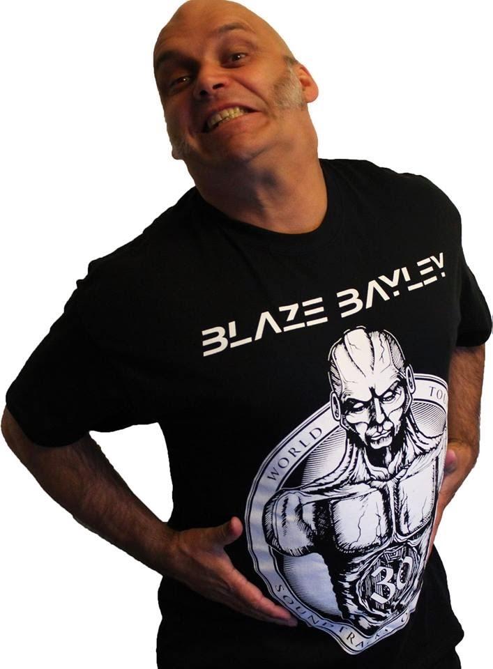 Blaze Bayley: Garoto propaganda de sua propria webshop