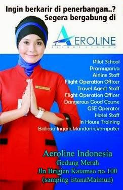 Aeroline Indonesia, kuliah khusus program cepat kerja dipenerbangan,  full sertifikasi