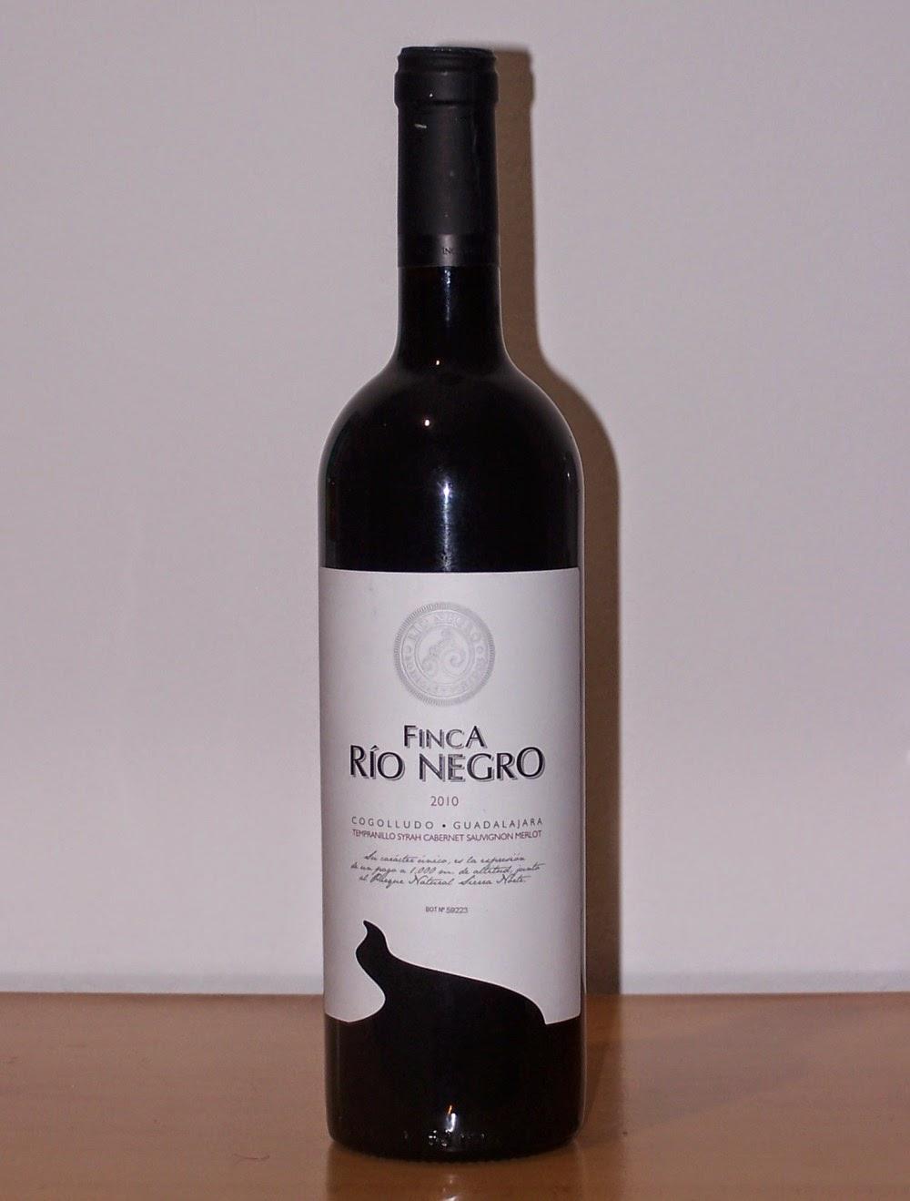 Finca Río Negro Tinto 2010, Vino de la Tierra de Castilla