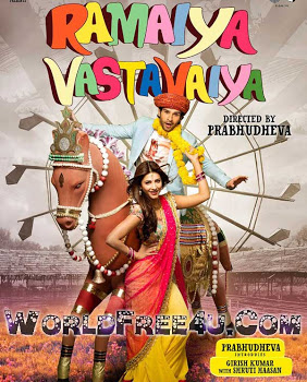 Poster Of Hindi Movie Ramaiya Vastavaiya (2013) Free Download Full New Hindi Movie Watch Online At worldfree4u.com