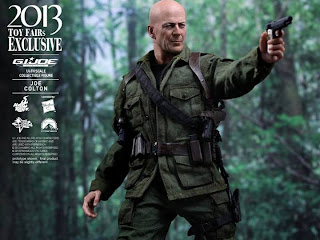 "Hot Toys 1/6 Scale GI Joe Retaliation 12"" Joe Colton Figure"