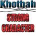 Khotbah Kristen: Strong Character