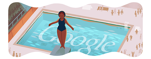 Google Doodles - Olympic Diving 2012