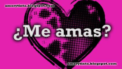 Imagen: ¿Me amas?