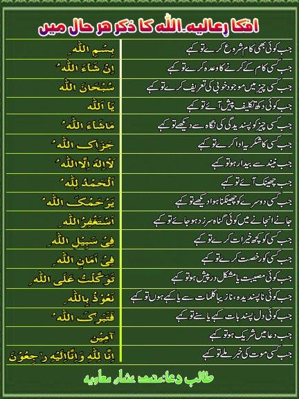 Remind allah in everywhere read in urdu best right way jab koi dil pasand bate kahay ya sonay jab dua main shareek ho to kahay jab kisi k mout ki kahbar sonay to kahay altavistaventures Images