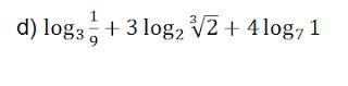 problemas definición logaritmo eso