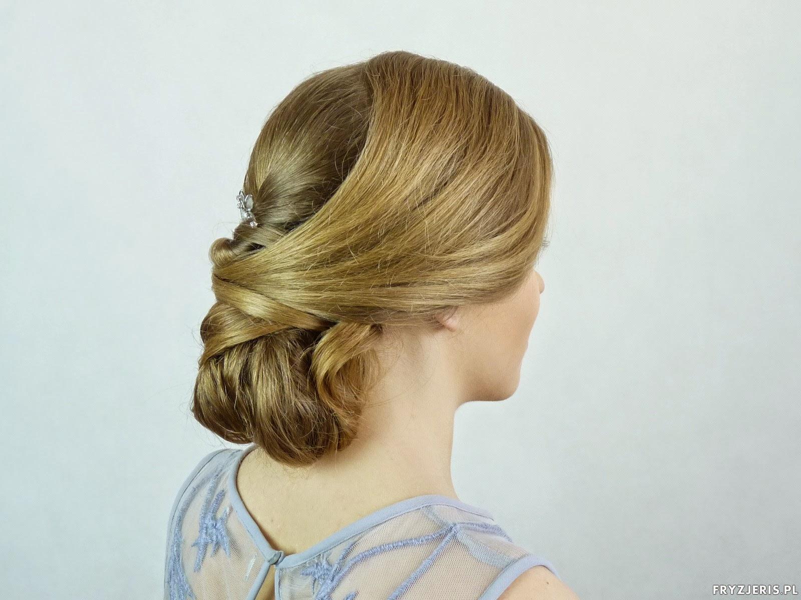 fryzura do ślubu